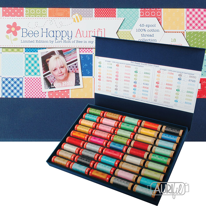 Bee Happy Collection by Lori Holt Aurifil Large Kit