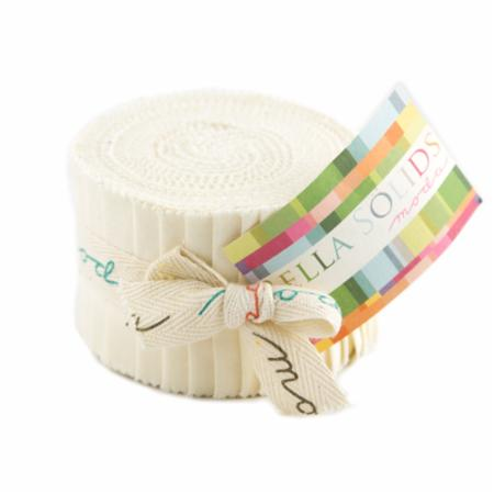 Solids Junior Jelly Roll - Ivory 9900 60