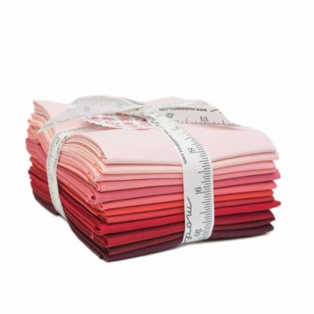 Moda Fat Quarter Bundle - Bella Solids Reds