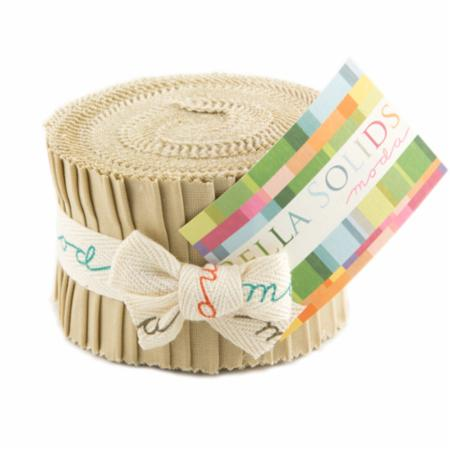 Solids Junior Jelly Roll - Tan 9900 13