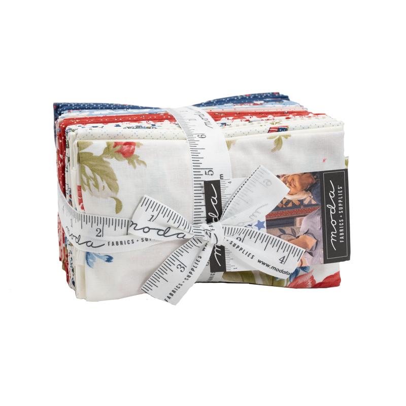 Moda Fat Eighth Bundle - Belle Isle by Minick & Simpson