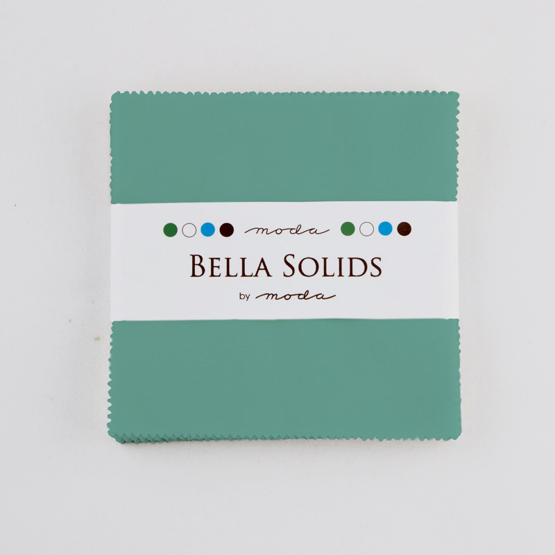 Solids Charm Pack - Betty Teal 9900 126