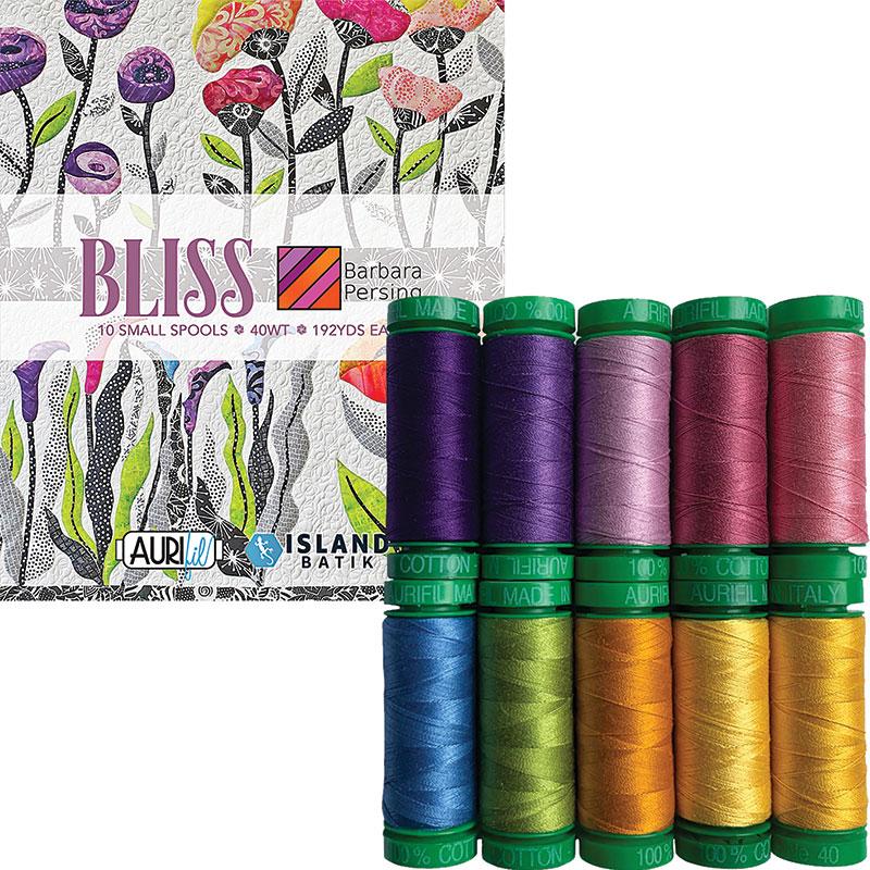 Bliss 40wt Aurifil Small Spools