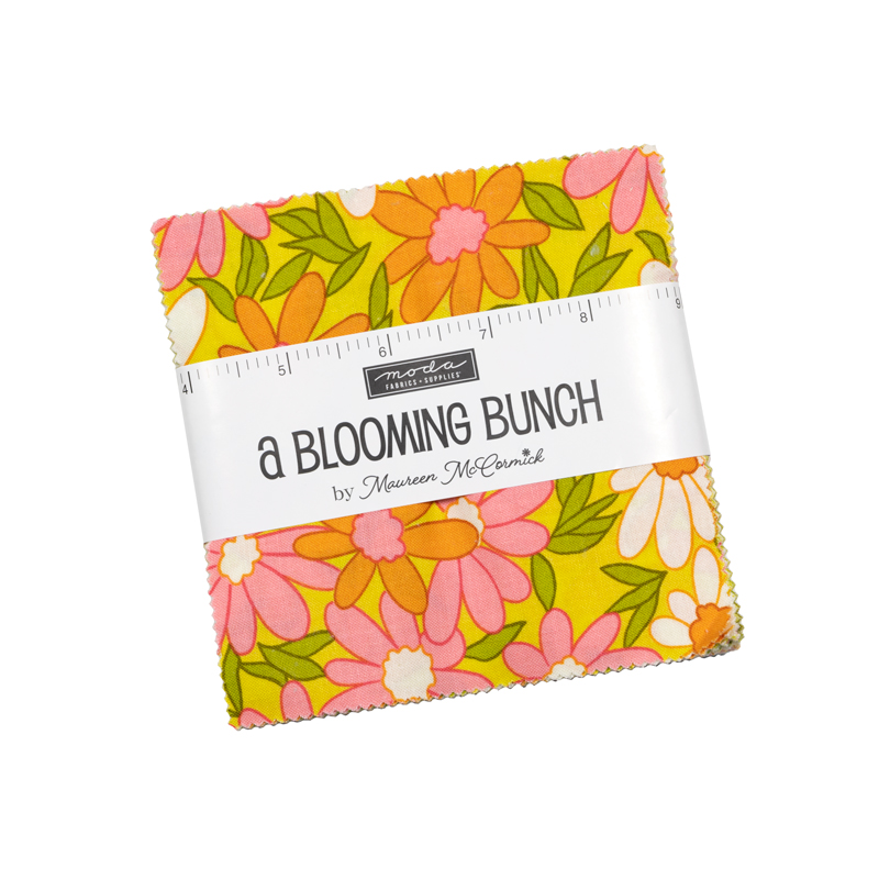 October/20 - A Blooming Bunch Charm Pack