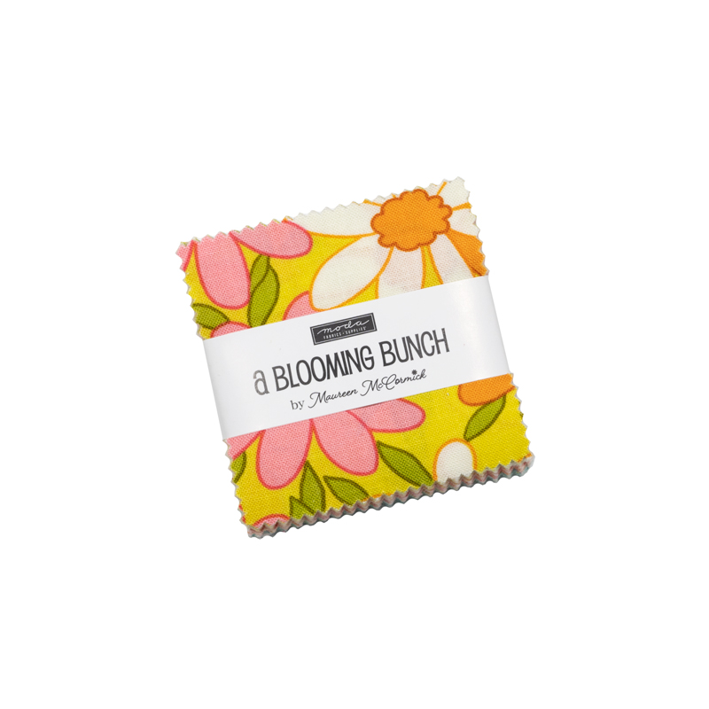 October/20 - A Blooming Bunch Mini Charm