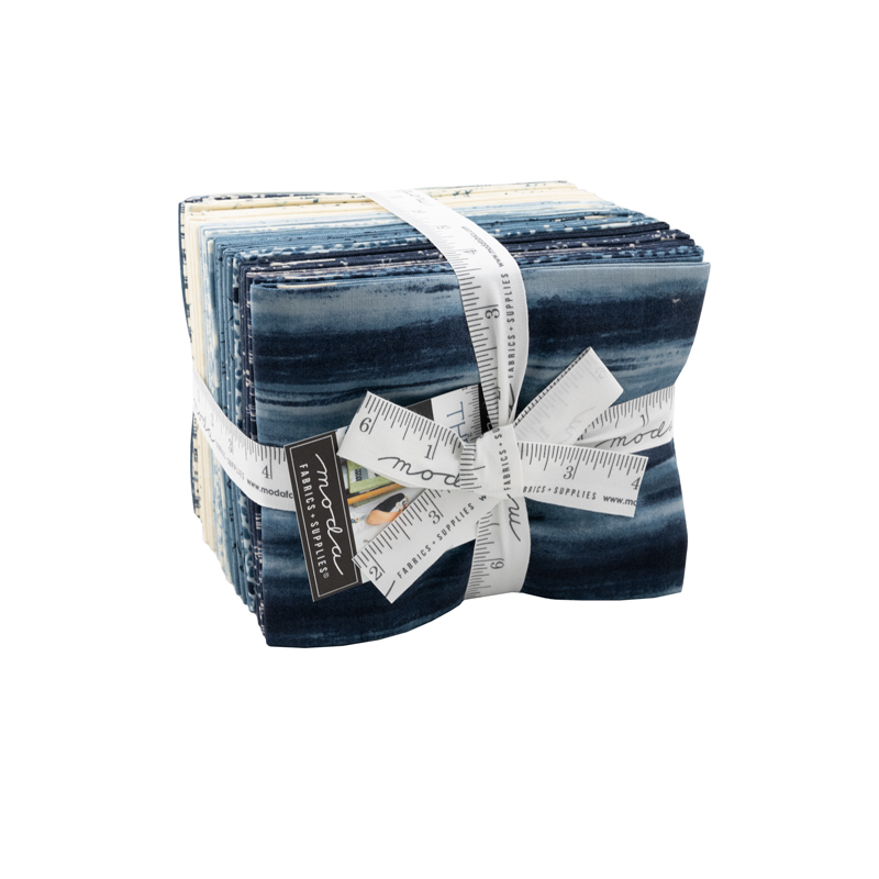 Moda Fat Quarter Bundle - The Blues by Janet Clare