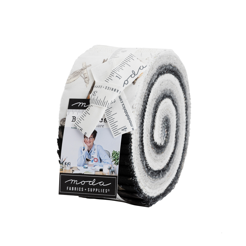 Moda Jelly Roll - Botanicals by Janet Clare