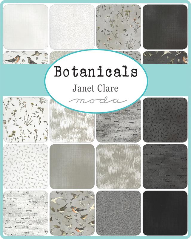 Moda Layer Cake - Botanicals by Janet Clare