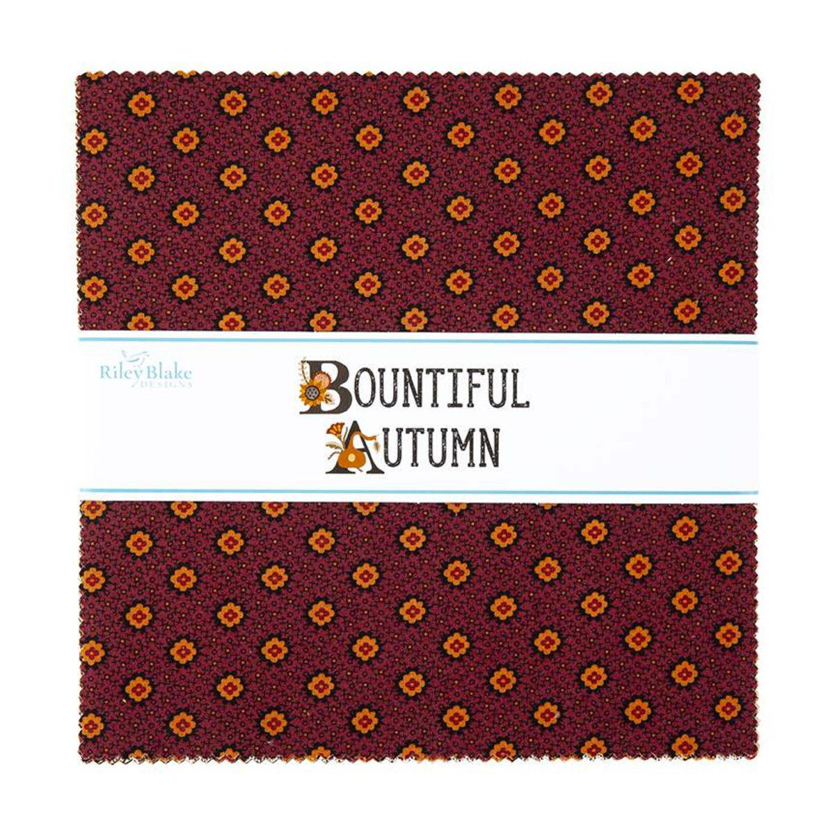 Riley Blake Layer Cake - Bountiful Autumn by Stacy West