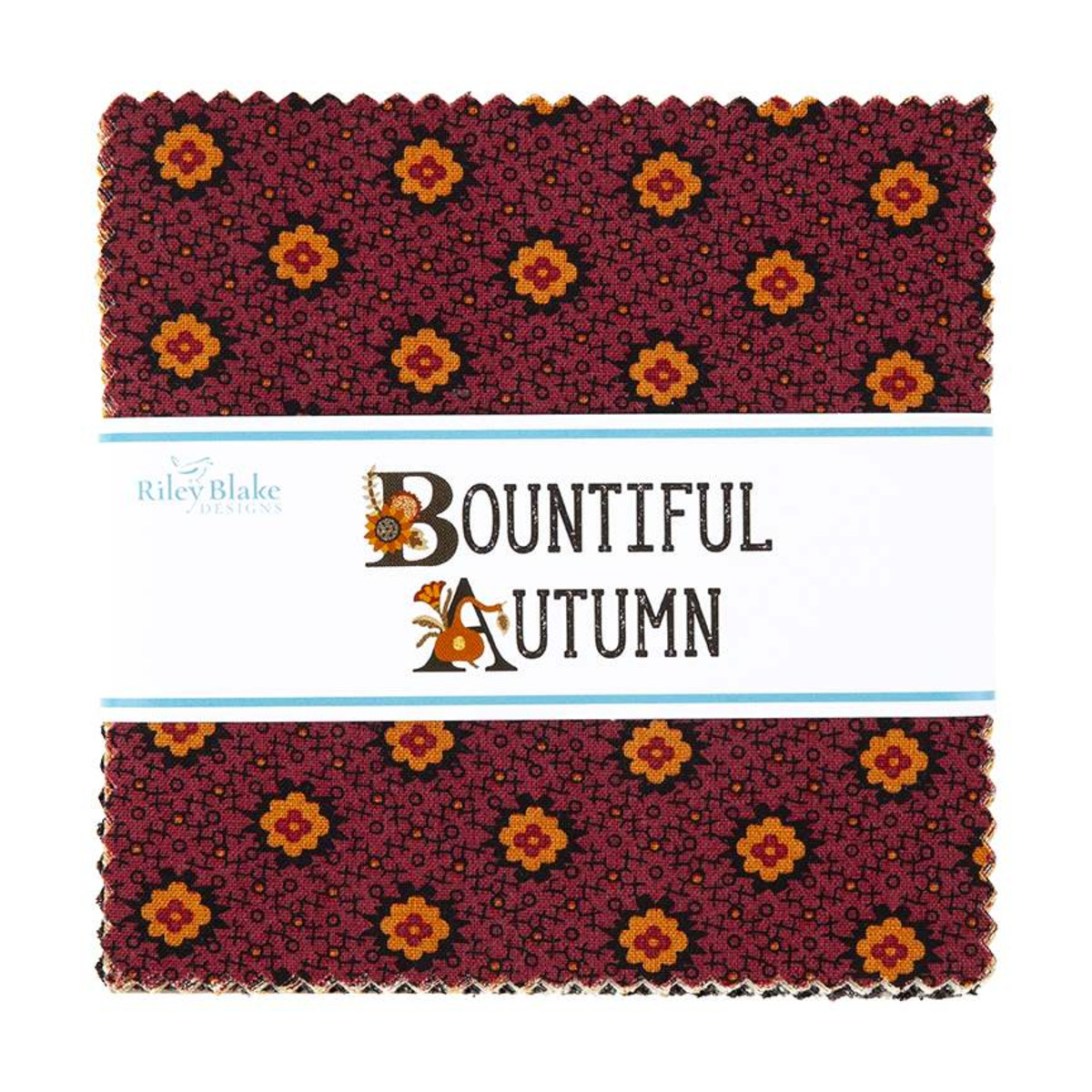 Riley Blake Charm Pack - Bountiful Autumn by Stacy West