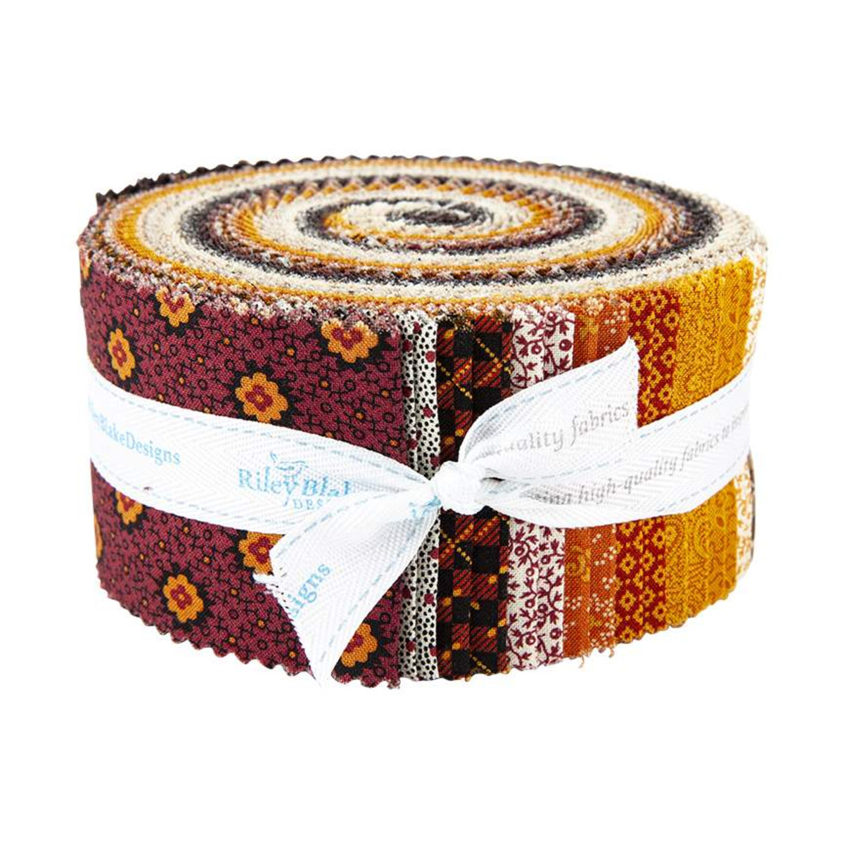Riley Blake Jelly Roll - Bountiful Autumn by Stacy West