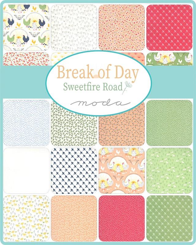 Moda Layer Cake - Break Of Day by Sweetfire Road