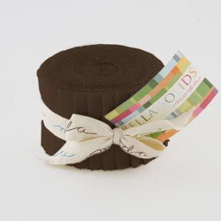 Solids Junior Jelly Roll - Brown 9900 71