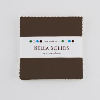 Solids Charm Pack - Brown 9900 71