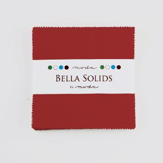 Solids Charm Pack - Red 9900 16