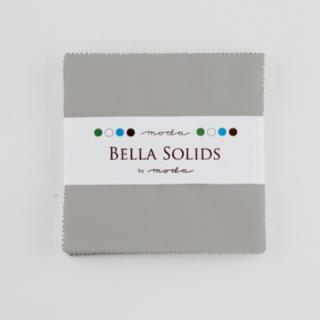 Solids Charm Pack - Silver 9900 183