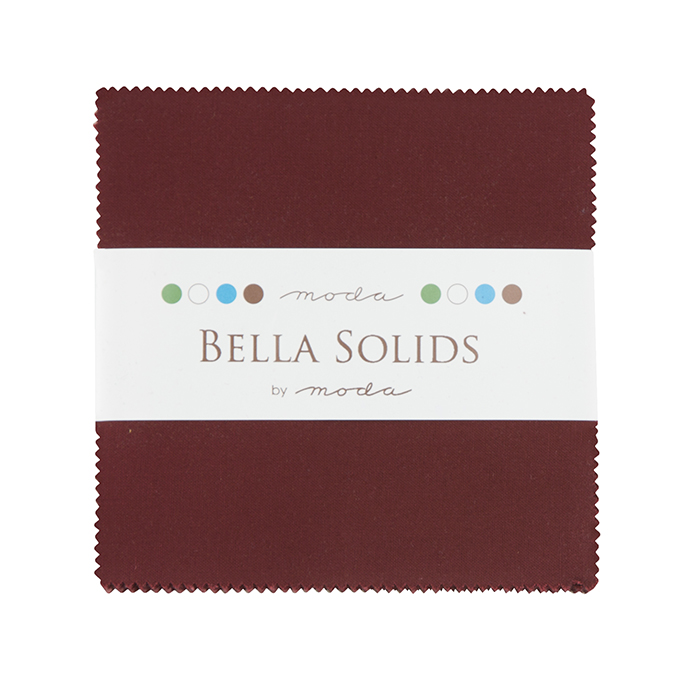 Solids Charm Pack - Burgundy 9900 18