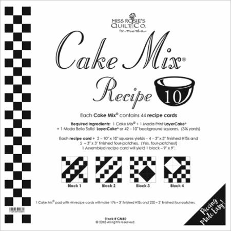 Cake Mix Recipe Number 10