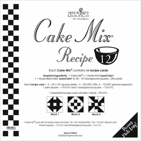Cake Mix Recipe Number 12