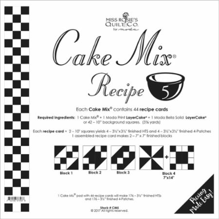 Cake Mix Recipe Number 5