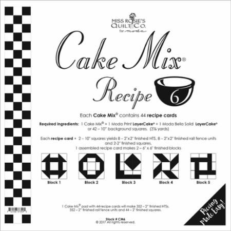 Cake Mix Recipe Number 6