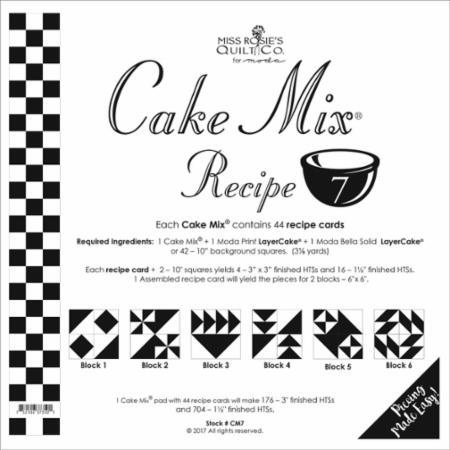 Cake Mix Recipe Number 7