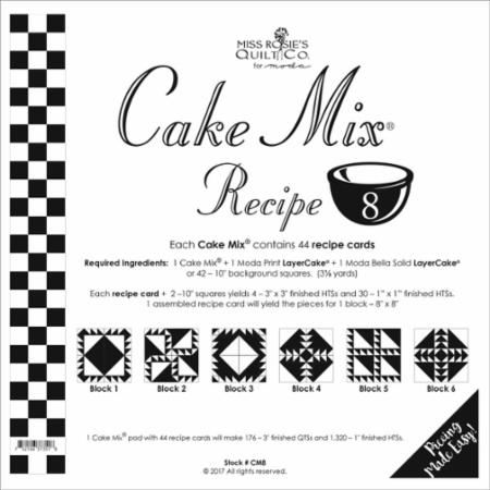 Cake Mix Recipe Number 8