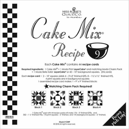 Cake Mix Recipe Number 9