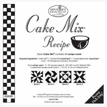 Cake Mix Recipe Number 4