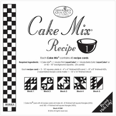 Cake Mix Recipe Number 1