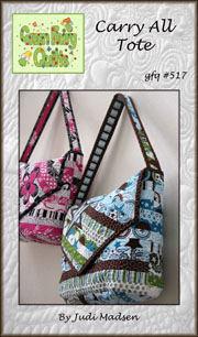 Carry All Tote Pattern