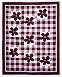 Checkered Flowers PDF Version