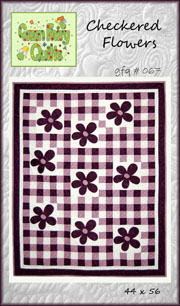 Checkered Flowers PDF Version