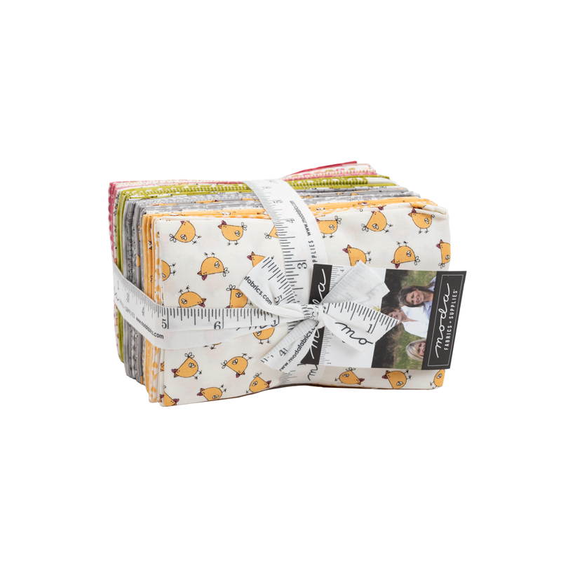 Moda Fat Eighth Bundle - Spring Chicken by Sweetwater
