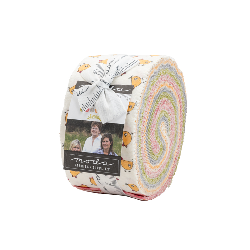 Moda Jelly Roll - Spring Chicken by Sweetwater