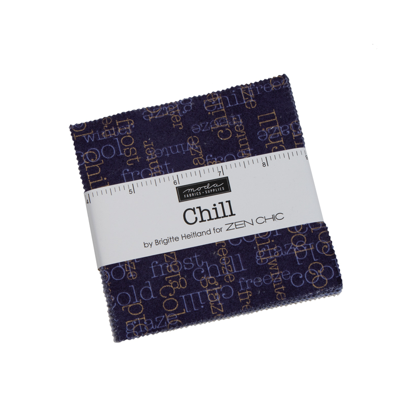 Moda Charm Pack - Chill by Zen Chic
