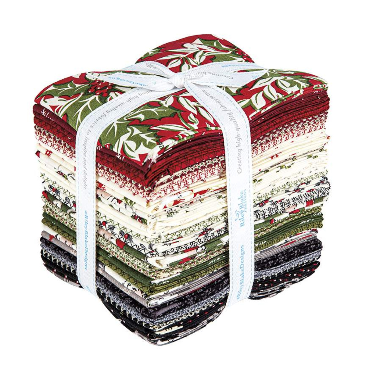 Riley Blake Fat Quarter Bundle - Christmas at Buttermilk Acres by Stacy West