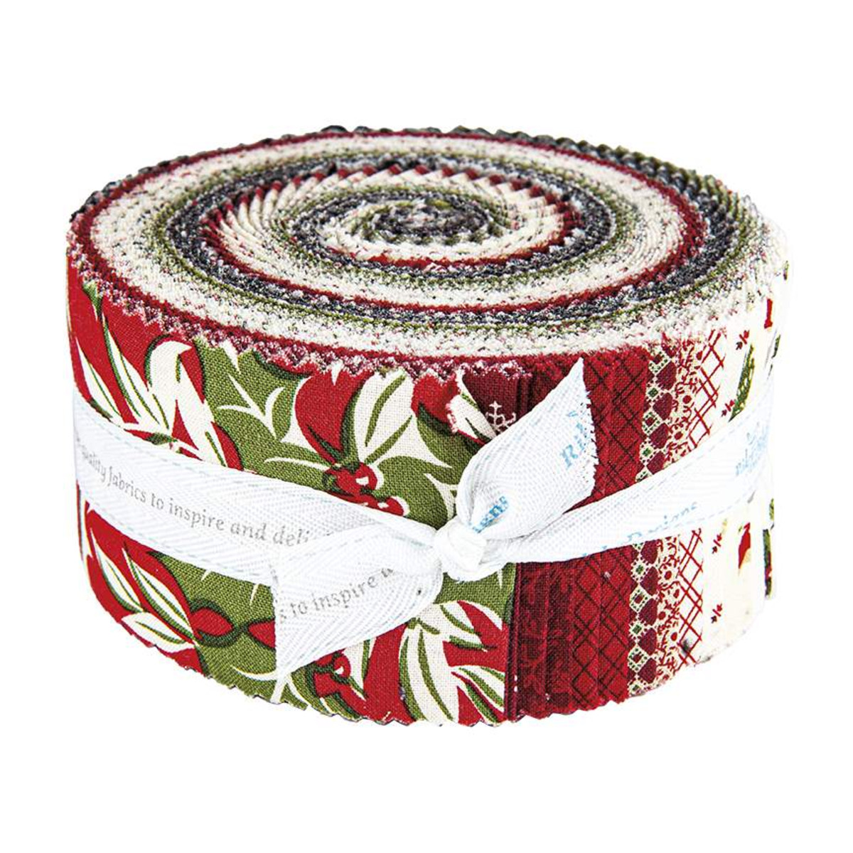 Riley Blake Jelly Roll - Christmas at Buttermilk Acres by Stacy West