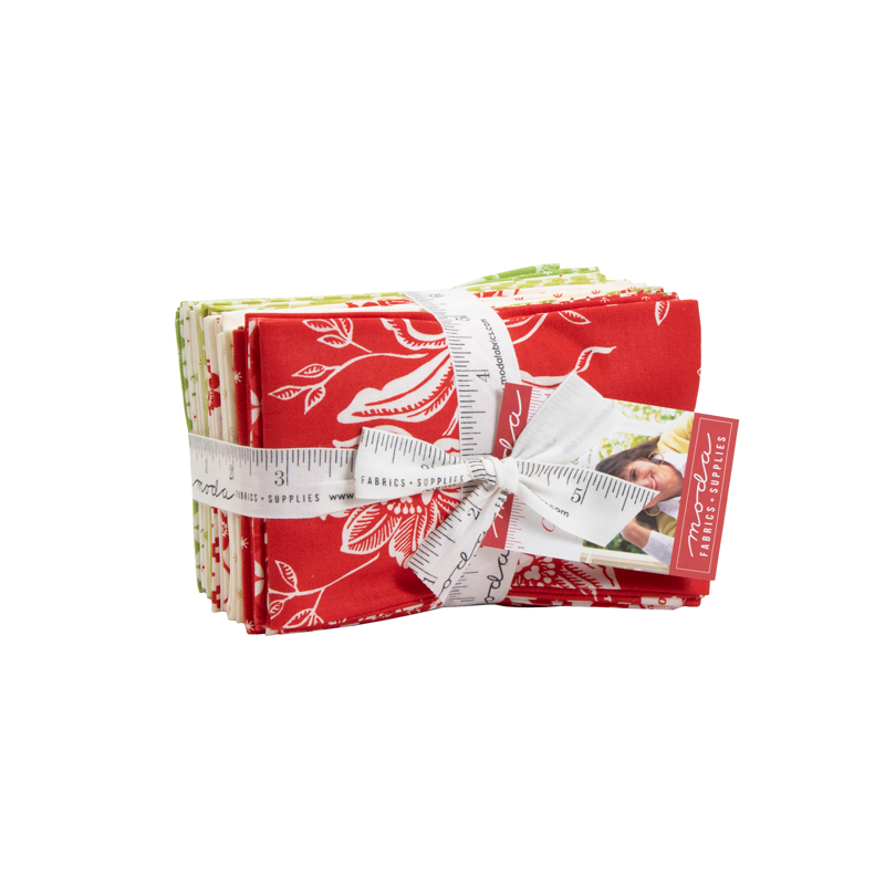 Moda Fat Eighth Bundle - Christmas Figs II by Fig Tree Quilts