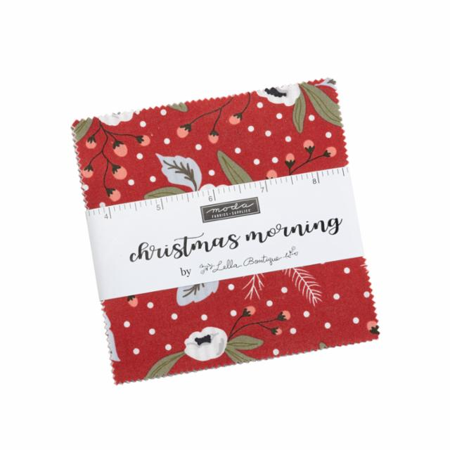 Moda Charm Pack - Christmas Morning by Lella Boutique