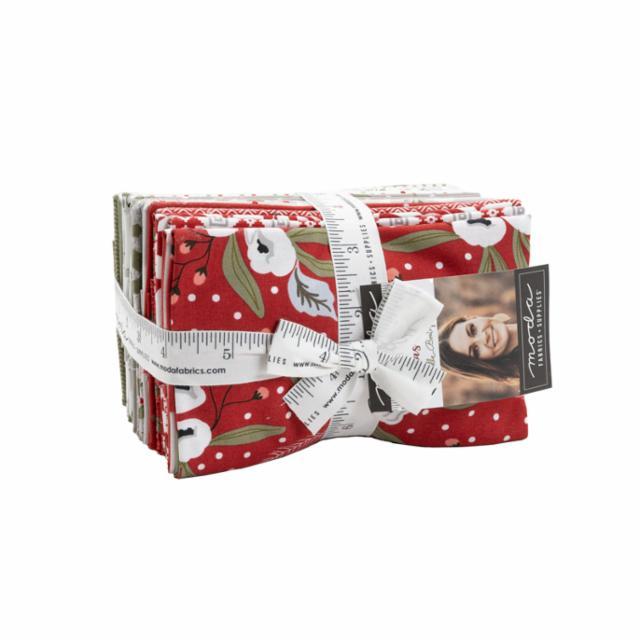 Moda Fat Eighth Bundle - Christmas Morning by Lella Boutique