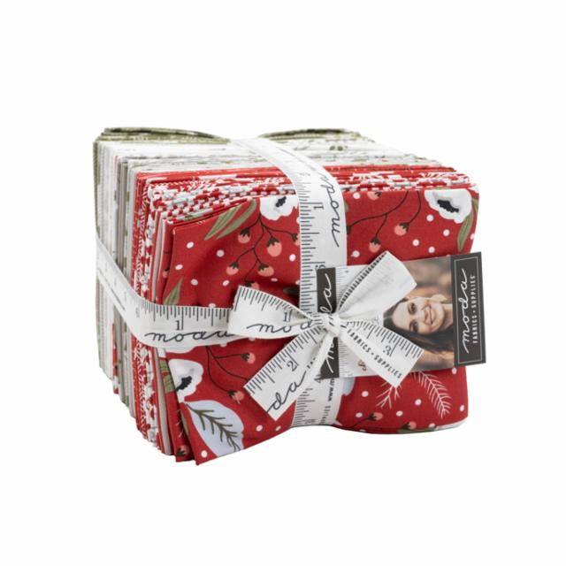 Moda Fat Quarter Bundle - Christmas Morning by Lella Boutique