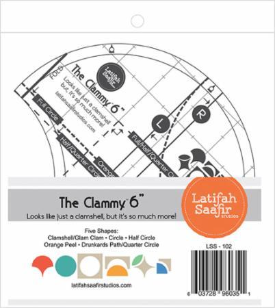 Clammy 6 Inch Ruler