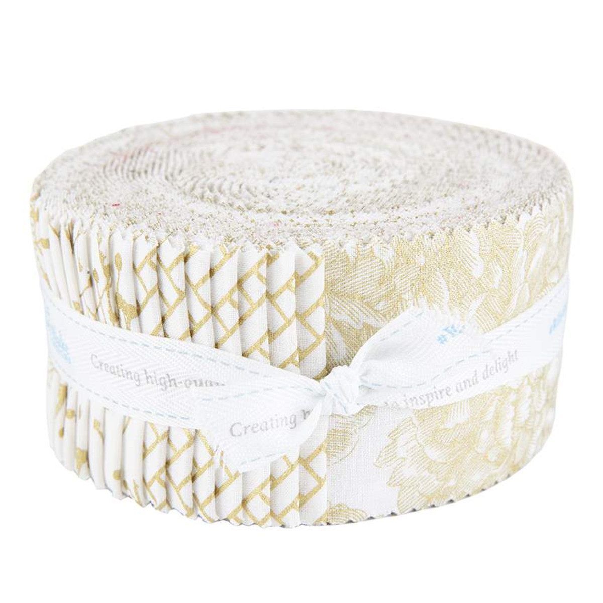 Riley Blake Jelly Roll - Classic Caskata Gold