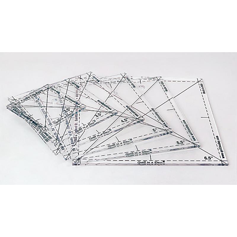 Complete Fussy Cut Rulers Set