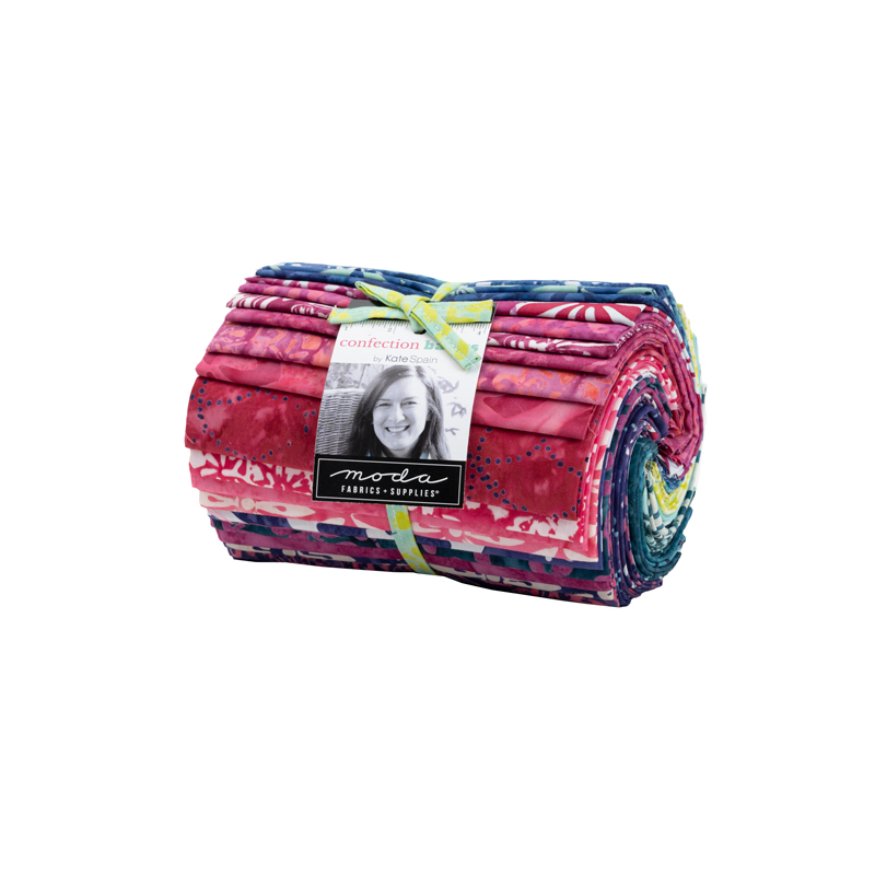 Moda Fat Eighth Bundle - Confection Batiks by Kate Spain