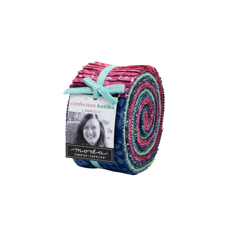 Moda Jelly Roll - Confection Batiks by Kate Spain