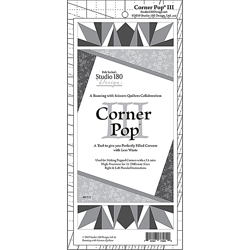 Corner Pop III Ruler
