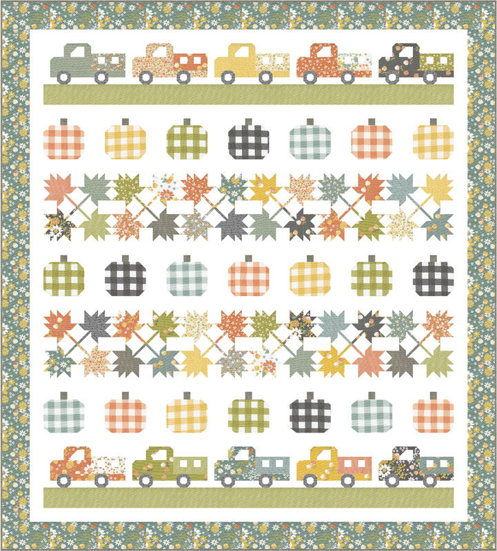 Moda Quilt Kit - Cozy Up by Corey Yoder
