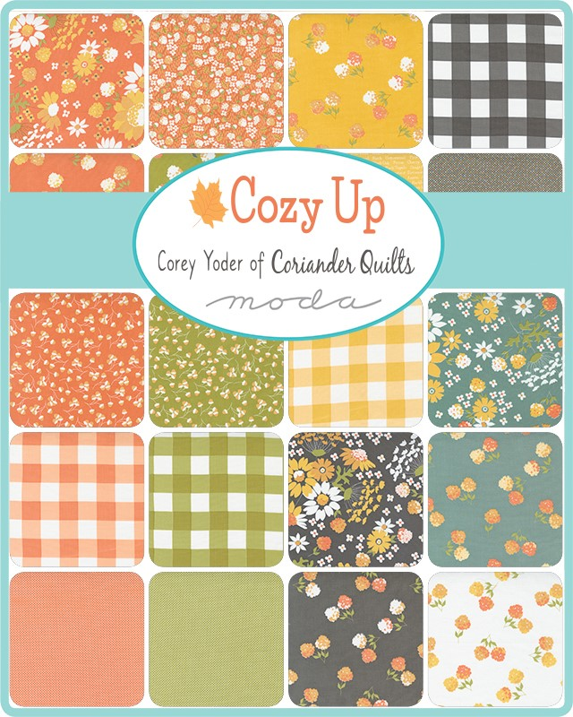 Moda Charm Pack - Cozy Up by Corey Yoder